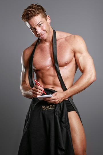 Stripper als Kellner - Hamburg-Dreamboys.com