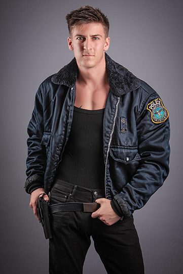 Stripper als Police-Officer - Hamburg-Dreamboys.com